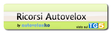 link al sito www.autoveloxko.it